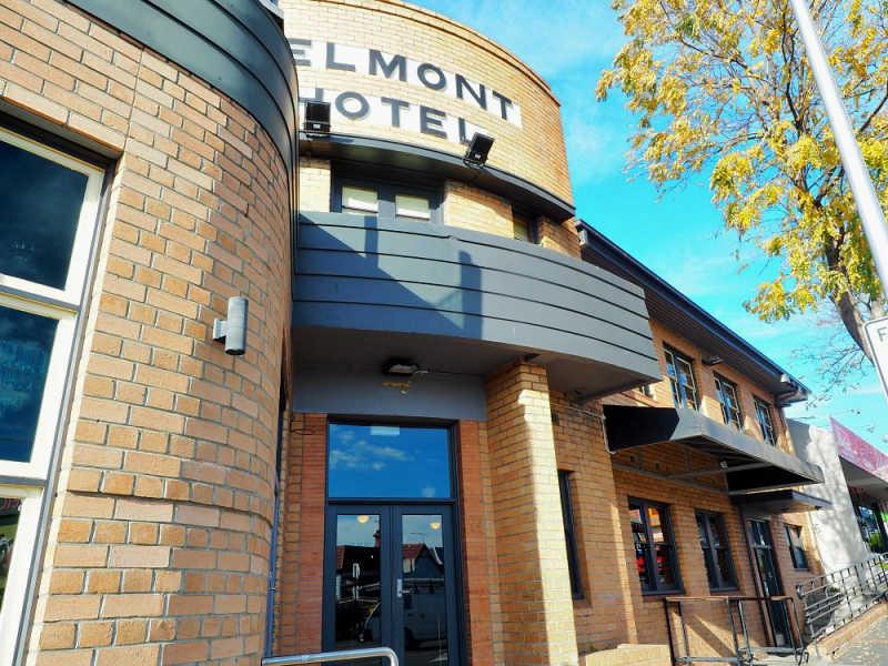 Photo of the Art Deco Belmont Hotel
