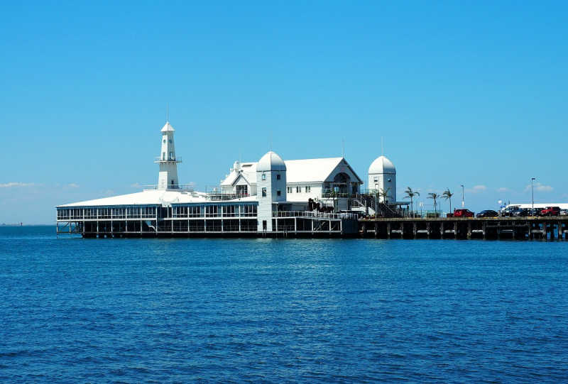 Cunningham Pier in Geelong Vic.