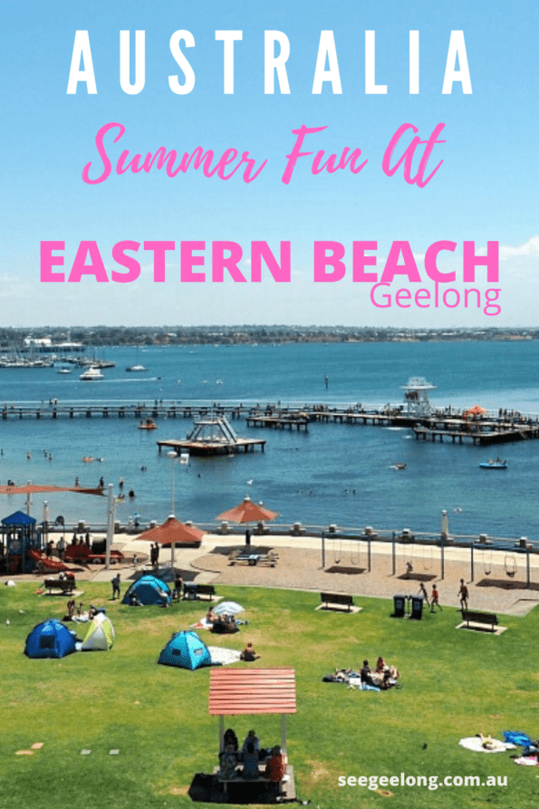 Eastern Beach Pinterest Pin