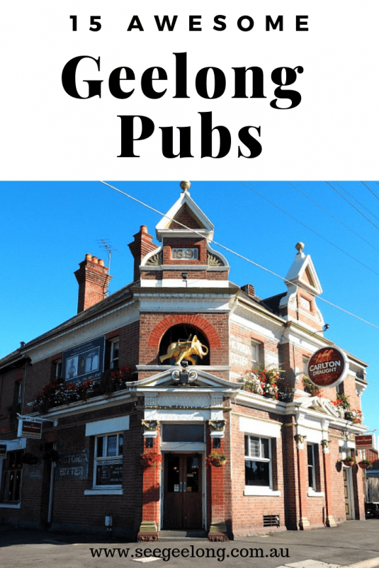 Geelong Pubs Pin