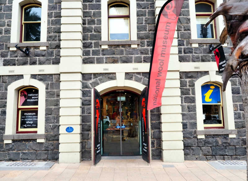 National Wool Museum entrance