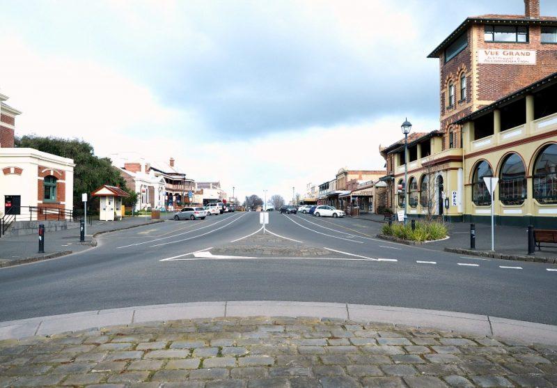 Hesse Street in Queenscliff