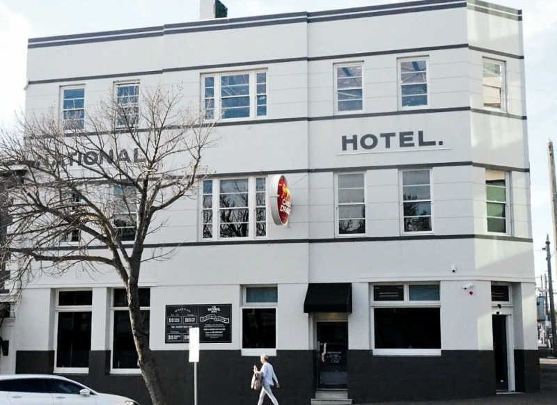 Photo of the National Hotel a top Geelong pub.