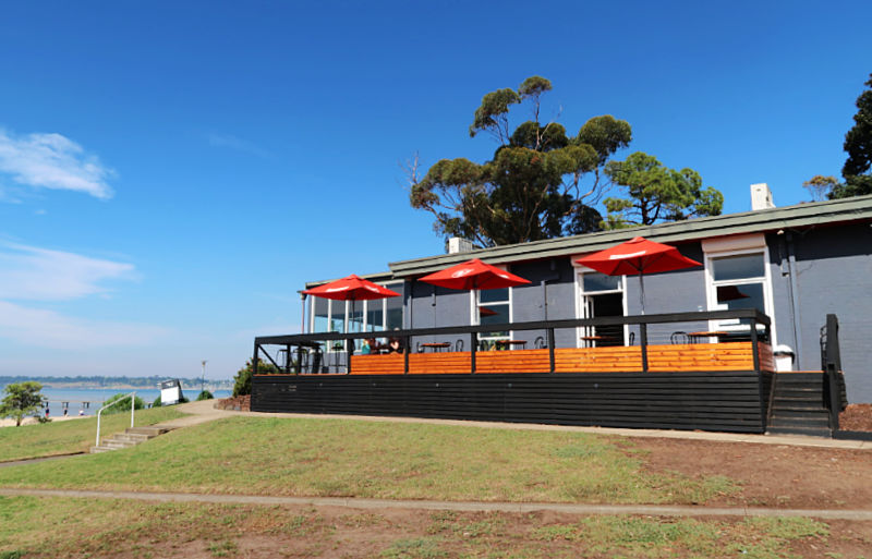 Photo of No 42 formerly Ripples By The Bay a top Geelong waterfront cafe with amazing water views.