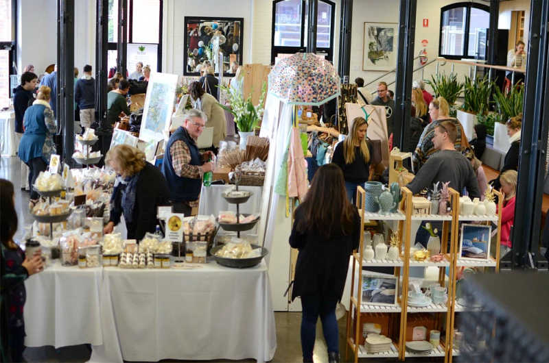 Stallholders at Piccadilly Market Geelong