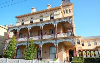 Beautiful Queenscliff bed and breakfast the Ozone Hotel.