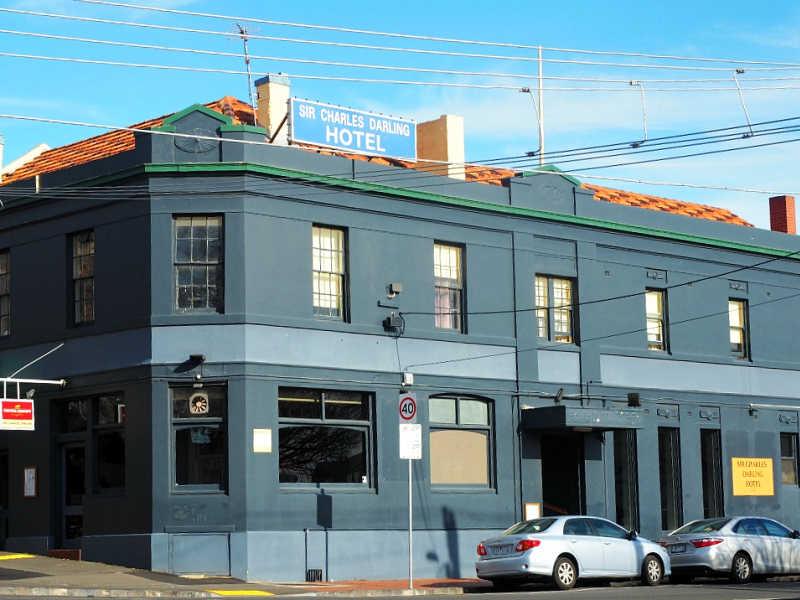 Photo of Sir Charles Darling an Australian pub.