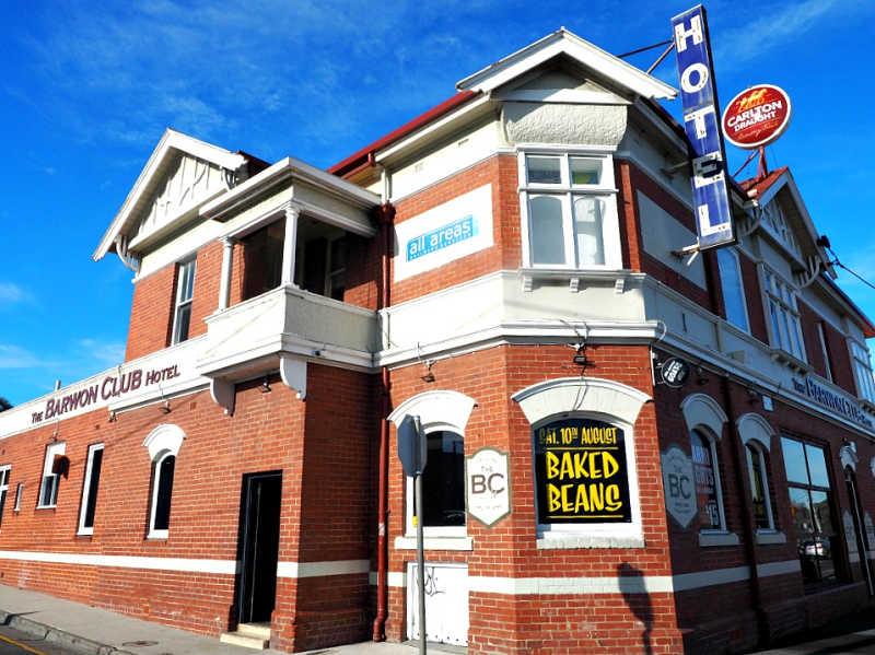 Photo of the Barwon Club a Geelong Hotel.