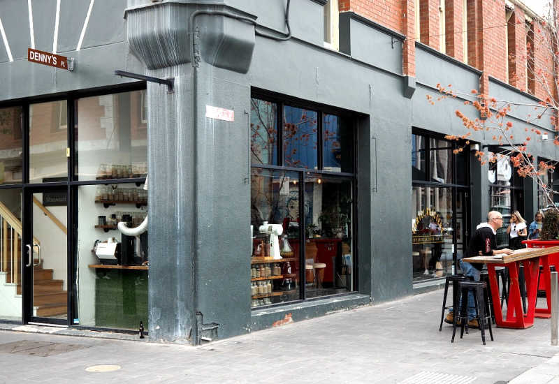 Exterior of Cartel Coffee Geelong.