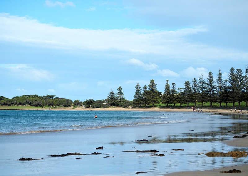 Swimming at Torquay Australia