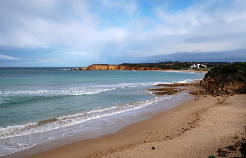 The beach at Torquay Great Ocean Road, Surf Coast.