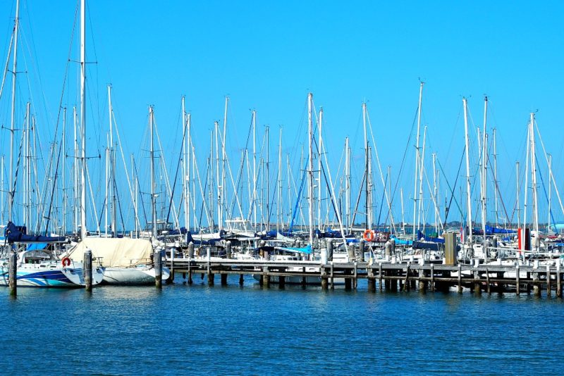 Yachts at Waterfront Geelong