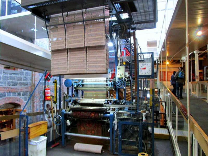 Geelong Wool Museum Axminster Carpet Loom